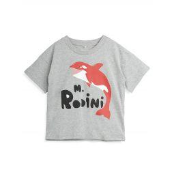 Little Boys & Boys Orca-Print T-Shirt
