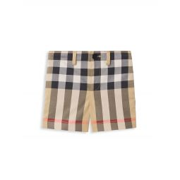 Baby Boys & Little Boys Vintage Check Shorts
