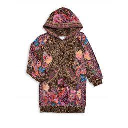 Girls Runaway Royal Hoodie Dress