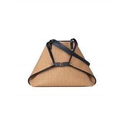 Medium Ai Raffia Shoulder Bag