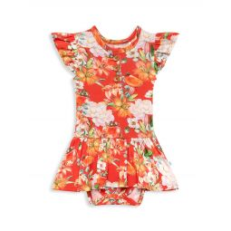 Babys & Little Girls Paulina Cap-Sleeve Bodysuit