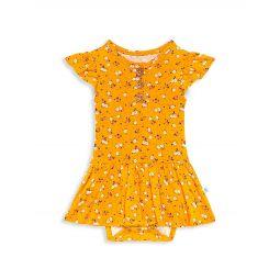 Baby Girls & Little Girls Halsey Henley Bodysuit