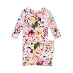 Baby Girls Margot Wood Button Nightgown