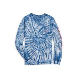 Little Boys & Boys Tie-Dye Vintage-Style Whale T-Shirt