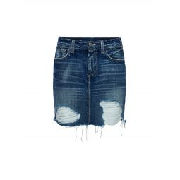 Jolene Distressed Mini Skirt