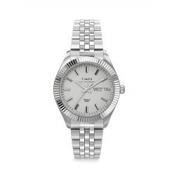 Waterbury Legacy Boyfriend Stainless Steel Bracelet Watch