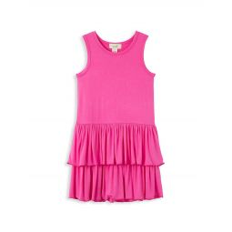 Girl's Tiered Knit Dress