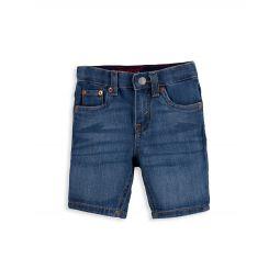 Little Boys Slim-Fit Denim Shorts