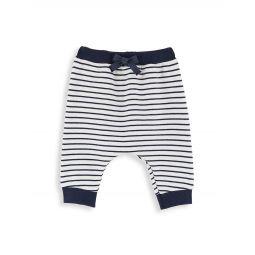 Baby Boys & Little Boys Striped Cotton Pants