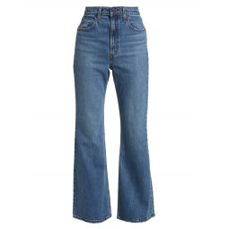 70s High-Rise Flare Jeans