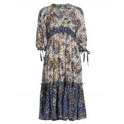 Round Hill Cotton Maxi Dress