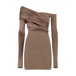 Fleece Wool & Silk Dress