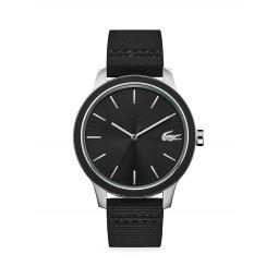 12.12 Rubber Strap Watch