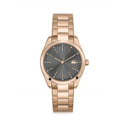 Petite Parisienne Carnation Goldtone & Crystal Bracelet Watch