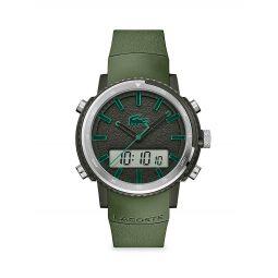 Maui Digital Silicone Strap Watch