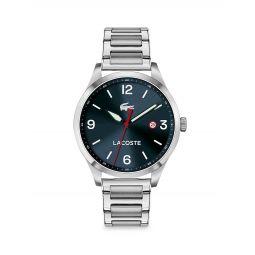 Traveler Stainless Steel Bracelet Watch