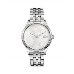 Nikita Stainless Steel & Mother-of-Pearl Bracelet Watch