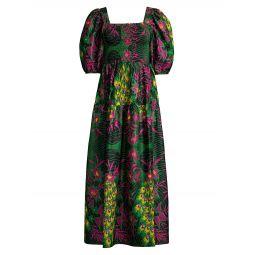 Esperanza Smocked Maxi Dress