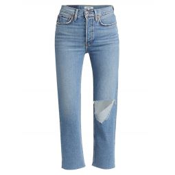 High-Rise 70s Stovepipe Jeans