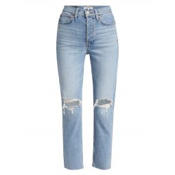 High-Rise 90s Ankle Jeans