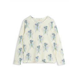 Little Girls & Girls Winterflowers Long Sleeve T-Shirt