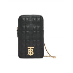 Mini Vertical Lola Quilted Leather Shoulder Bag