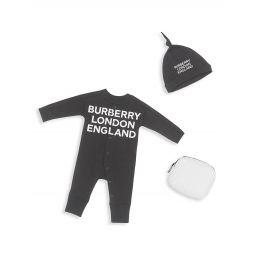 Babys 3-Piece Logo-Print Gift Set
