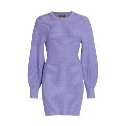 Merylbone Puff-Sleeve Dress