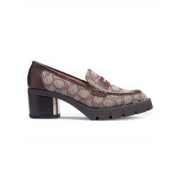 Cora Monogram Jacquard Loafers