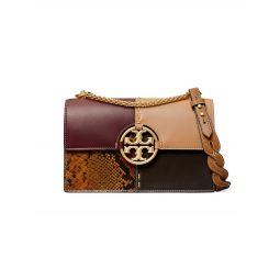 Miller Colorblock Leather Shoulder Bag