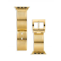 Goldtone Stainless Steel Apple Watch Strap