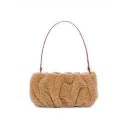 Bean Shearling Shoulder Bag
