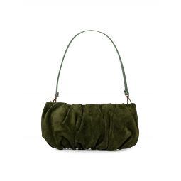Bean Suede Shoulder Bag