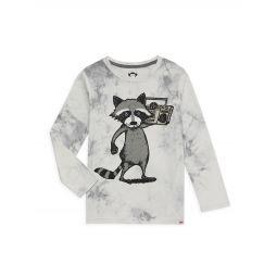 Babys, Little Boys & Boys Boombox Raccoon Long-Sleeve T-Shirt