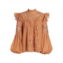 Textured Lace Blouse