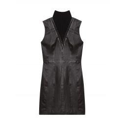 Leather Minidress