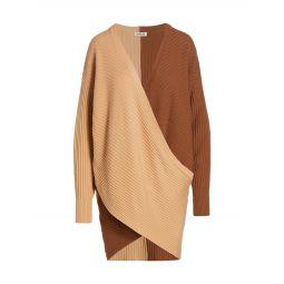 Samira Two-Tone Sweaterdress