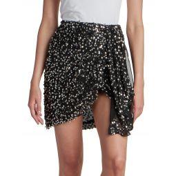 Gissolya Sequined Mini Skirt