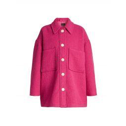 Delinda Oversized Shirt Jacket