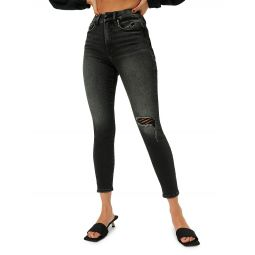 Good Cropped High-Waist Skinny Jeans