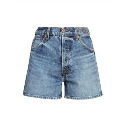 A-Line Jean Shorts