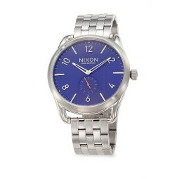 C45 Stainless Steel Chronograph Bracelet Watch