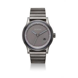 Station Stainless Steel Bracelet Watch