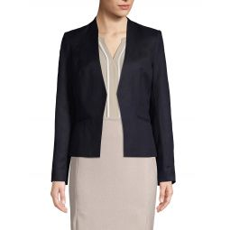 Classic Open-Front Jacket