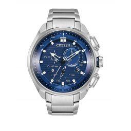 Eco-Drive Proximity Pryzm Stainless Steel Bracelet Watch
