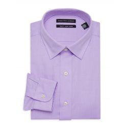 Trim-Fit Long-Sleeve Dress Shirt