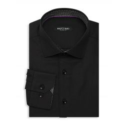 Shaped-Fit Dress Shirt