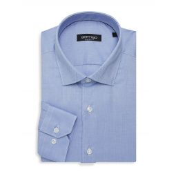 Shaped-Fit Oxford Dress Shirt