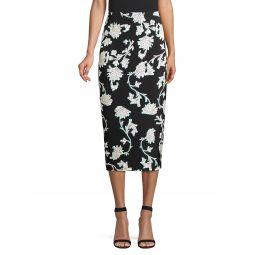 Kara Floral Pencil Skirt