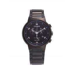 Eco Chrono Gunmetal Stainless Steel Bracelet Watch